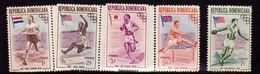 Republique Dominicaine (1957)  - JeuxOlympiques De Melbourne Neufs** - Dominican Republic