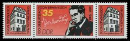 DDR ZUSAMMENDRUCK Nr WZd 626 Postfrisch WAAGR PAAR SB2592A - Zusammendrucke