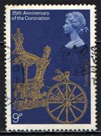 GRAN BRETAGNA - 1978 - 25TH ANNIVERSARY OFO CORONATION OF ELIZABETH II - USATO - Gebraucht