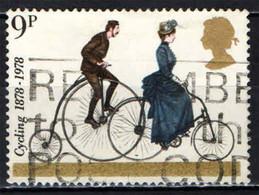 GRAN BRETAGNA - 1978 - BRITISH BICYCLES - BICICLETTA - PENNY-FARTHING - 19TH CENTURY - USATO - Gebraucht