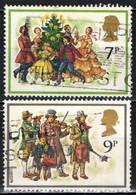 GRAN BRETAGNA - 1978 - NATALE - CHRISTMAS - CAROLERS AROUND CHRISTMAS TREE - CHRISTMAS WAITS (WATCHMEN) - USATI - Gebraucht