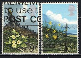 GRAN BRETAGNA - 1979 - FIORI SELVATICI - BRITISH WILD FLOWERS: PRIMROSES - DAFFODILS - PRIMULA - TROMBONCINO - USATI - Gebraucht