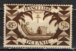 OCEANIA - 1942 - ANTICA CANOA - USATO - Used Stamps