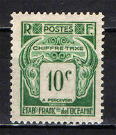 OCEANIA - 1948 - 10 CENT. - MNH - Postage Due