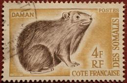 DF50500/1291 - 1962 - CÔTE DES SOMALIS - N°306 ☉ - Used Stamps