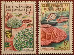 DF50500/1292 - 1963 - CÔTE DES SOMALIS - SERIE COMPLETE - N°317 à 318 ☉ - Used Stamps