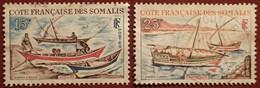 DF50500/1293 - 1964 - CÔTE DES SOMALIS - N°320 à 321 ☉ - Used Stamps