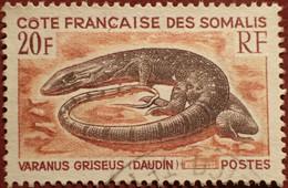 DF50500/1294 - 1967 - CÔTE DES SOMALIS - N°328 ☉ - Used Stamps