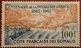 DF50500/1297 - 1962 - CÔTE DES SOMALIS - POSTE AERIENNE - N°30 ☉ - Used Stamps
