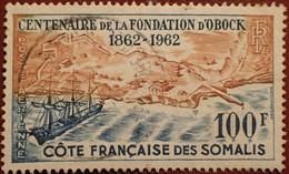 DF50500/1298 - 1962 - CÔTE DES SOMALIS - POSTE AERIENNE - N°30 ☉ - Used Stamps