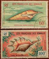 DF50500/1299 - 1962 - CÔTE DES SOMALIS - POSTE AERIENNE - SERIE COMPLETE - N°31 à 32 ☉ - Used Stamps