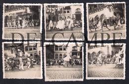 LOT W/10 REAL PHOTOS PORTUGAL LISBOA - CORTEJO HISTÓRICO DAS FESTAS DO VIII CENTENÁRIO  - 1947 - Lisboa