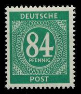 KONTROLLRAT ZIFFERN Nr 936a Postfrisch X8302AA - American,British And Russian Zone