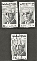 United States - Scott #1700 Used - 3 Different - Used Stamps