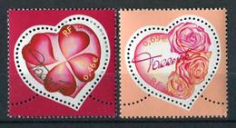 """TIMBRES** De 2003 Gommés """"0,46 & 0,69 € - Saint-Valentin : COEURS Du Couturier TORRENTE"""" - Unused Stamps"""