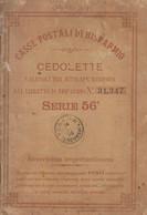 ** CASSE POSTALI DI RISPARMIO.- CEDOLETTE.- 1896.-** - Non Classificati