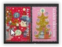 Aland 2021 Série Neuve Noël - Ålandinseln
