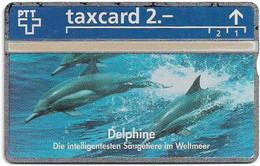 Switzerland - Swisscom (L&G) - K Series - K-93/27B - Delphine, Die Clowns Der Meere - 344L - 04.1993, 2Fr, 5.000ex, Mint - Schweiz