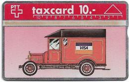 Switzerland - Swisscom (L&G) - K Series - K-91-59C - VISA Finalba - 108E - 08.1991, 10Fr, 1.400ex, Mint - Schweiz