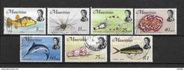 LOTE 2218   /// (C146) MAURICIO // YVERT Nº: 612/618 *MH // CATALOG/COTE: 7,25€ - Mauritius (...-1967)