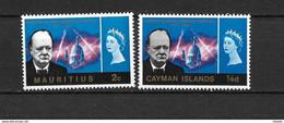 LOTE 2218   ///  (C010) ISLA MAURICIO EMISION CONJUNTA CON ISLAS CAYMAN **MNH - Mauritius (...-1967)