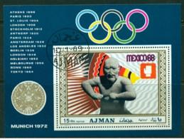 """-Ajman-1972-""""Munich Olympics"""" (o) - Ajman"""