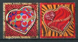 """TIMBRES** De 2005 Gommés """"Saint-Valentin : COEURS Du Couturier STEPHANE ROLLAND De La Maison JEAN-LOUIS SCHERRER"""" - Unused Stamps"""
