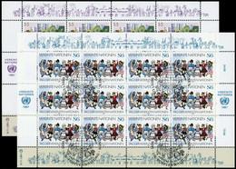 1987, UNO Wien, 75-76 KB, Gest. - Unclassified