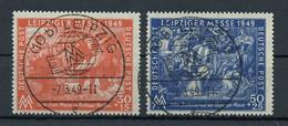 1949, SBZ Allgemeine Ausgabe, 230-31, Cto - Soviet Zone