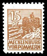 1946, SBZ Mecklenburg Vorpommern, 37 Yd, ** - Soviet Zone