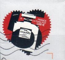 "FR 2000-21- AFFRANCHISSEMENT   "" Coeur CHANEL à 1.08 € "")........ IMPRESSION Philaposte  OBLITERE - Used Stamps"