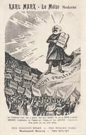 Carte Postale - KARL MARX, Le Moïse Moderne - REPRODUCTION Des Années 50/60 - People
