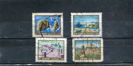 Liban 1965 Yt 260-263 Vues - Lebanon