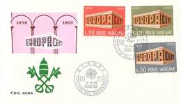 Vatican 1969 FDC Europa CEPT (DD33-14) - 1969
