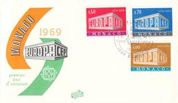 Monaco 1969 FDC Europa CEPT (DD33-14) - 1969