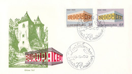 Luxembourg 1969 FDC Europa CEPT (DD33-14) - 1969