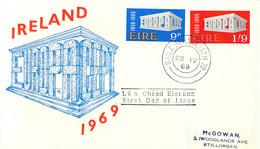 Ireland 1969 FDC Europa CEPT (DD33-14) - 1969
