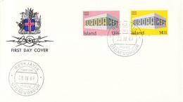 Iceland 1969 FDC Europa CEPT (DD33-14) - 1969