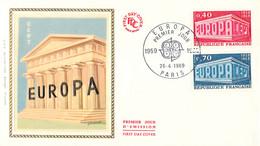 France 1969 FDC Europa CEPT (DD33-14) - 1969