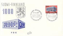 Finland 1969 FDC Europa CEPT (DD33-14) - 1969