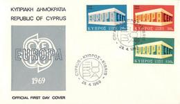 Cyprus 1969 FDC Europa CEPT (DD33-14) - 1969