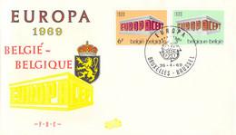 Belgien 1969 FDC Europa CEPT (DD33-14) - 1969