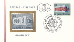 Austria 1969 FDC Europa CEPT (DD33-14) - 1969