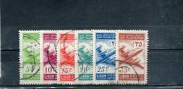 Liban 1953 Yt 82-87 Timbres Pour La Poste Aérienne - Lebanon