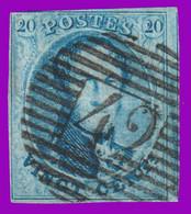 """N°11 - 3 Belles Marges Margé Avec 1 Voisin à Droite - A Peine Touché En Haut à Gauche - P. 42 """"FONTAINE L'EVÊQUE"""" - 1849-1865 Medallions (Other)"""