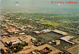 (6 A 15) USA - El Centro (2 Punch Hole At Top Of Card) - Other