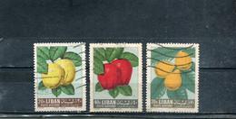 Liban 1962 Yt 269 271 273 Série Courante - Lebanon