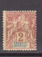 SENEGAL       N°  YVERT  :    9   NEUF AVEC  CHARNIERES      (  CH  03/60 ) - Unused Stamps