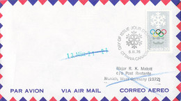 Canada FDC 1976 Montreal Olympic Games - Ottowa (DD33-13) - Verano 1976: Montréal
