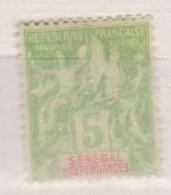 SENEGAL                N° YVERT  :  21   NEUF SANS GOMME        ( S G     2 / 11 ) - Unused Stamps
